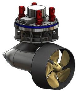 Marine Propulsion Solutions Mps Is The Only Thruster Company Offering A Large Electric And Manoeuvering Product Using New Pmm Drive