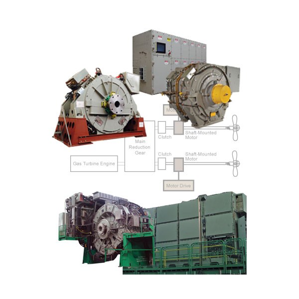 Mps Electric And Hybrid Ship Propulsion Systems