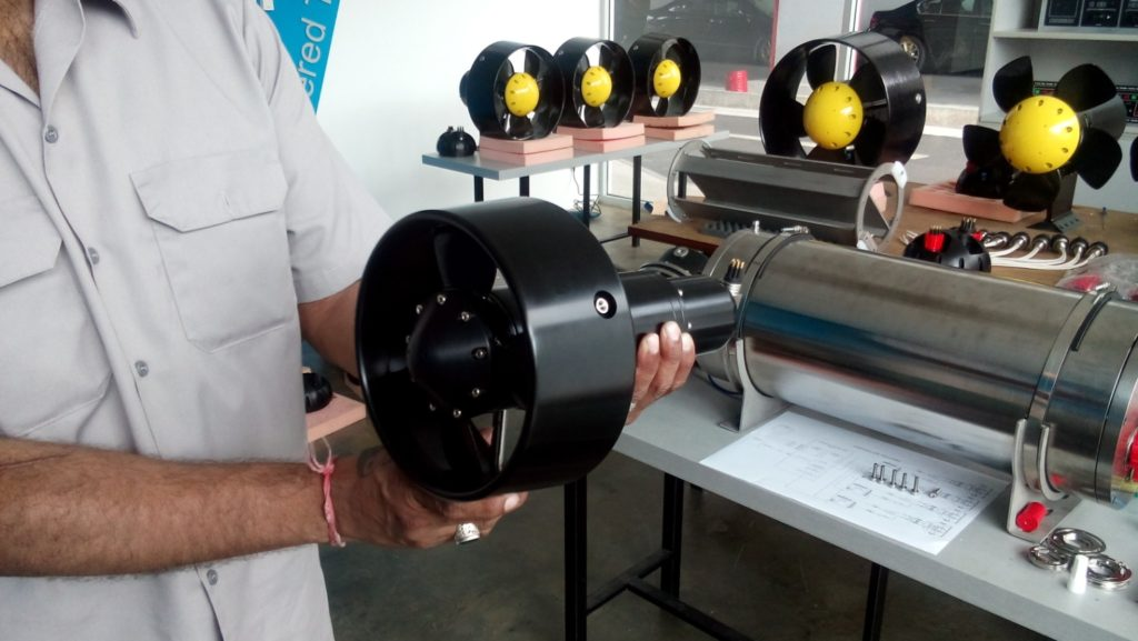 Electric Dc Thrusters Welcome To Pt Marine Propulsion Solutions Subsea Group